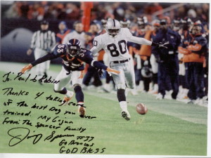 #33 Denver Bronco Jimmy Spencer